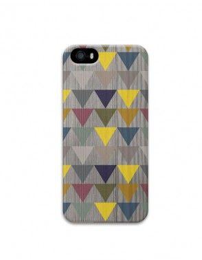 carcasa madera triangulo iphone5