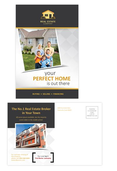 Real Estate Postcard Template Will Be A Good Choice For - Html postcard template