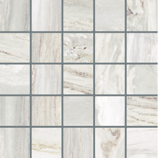 Happy Floors Bellagio Silver X For Shower Floors Happy Floors - 2x2 mosaic tile for shower floor