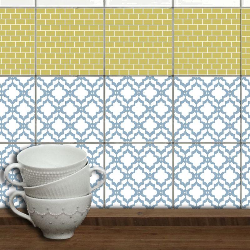geometrische fliesenmuster fliesenaufkleber Wohnung Pinterest - fliesenmuster für badezimmer