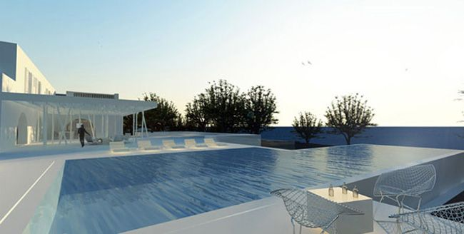 Spetses House, between sand and sky