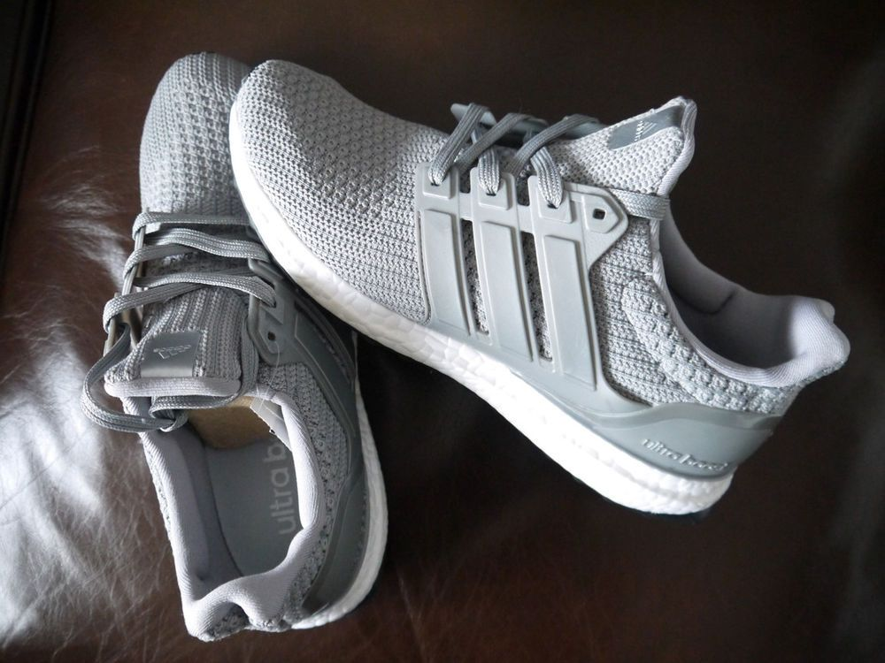 8eb14ea8151e New Size 10 Adidas Ultra Boost 4.0 Grey White Rare Running Shoes BB6167   fashion  clothing  shoes  accessories  mensshoes  athleticshoes (ebay link)