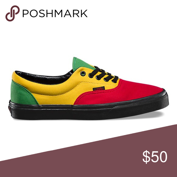 33b211e7906 vans era(rasta)red black 2017 Vans Shoes Sneakers