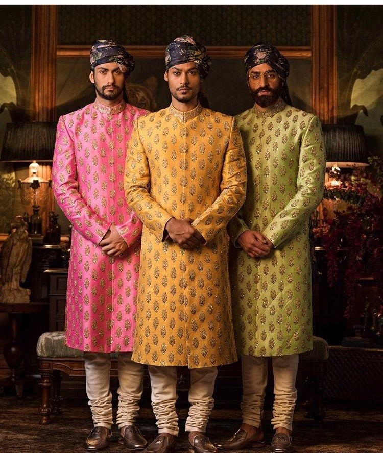 740f7c67a3 Sabyasachi # kurta # sherwani # colourful men's wear | The perfect ...