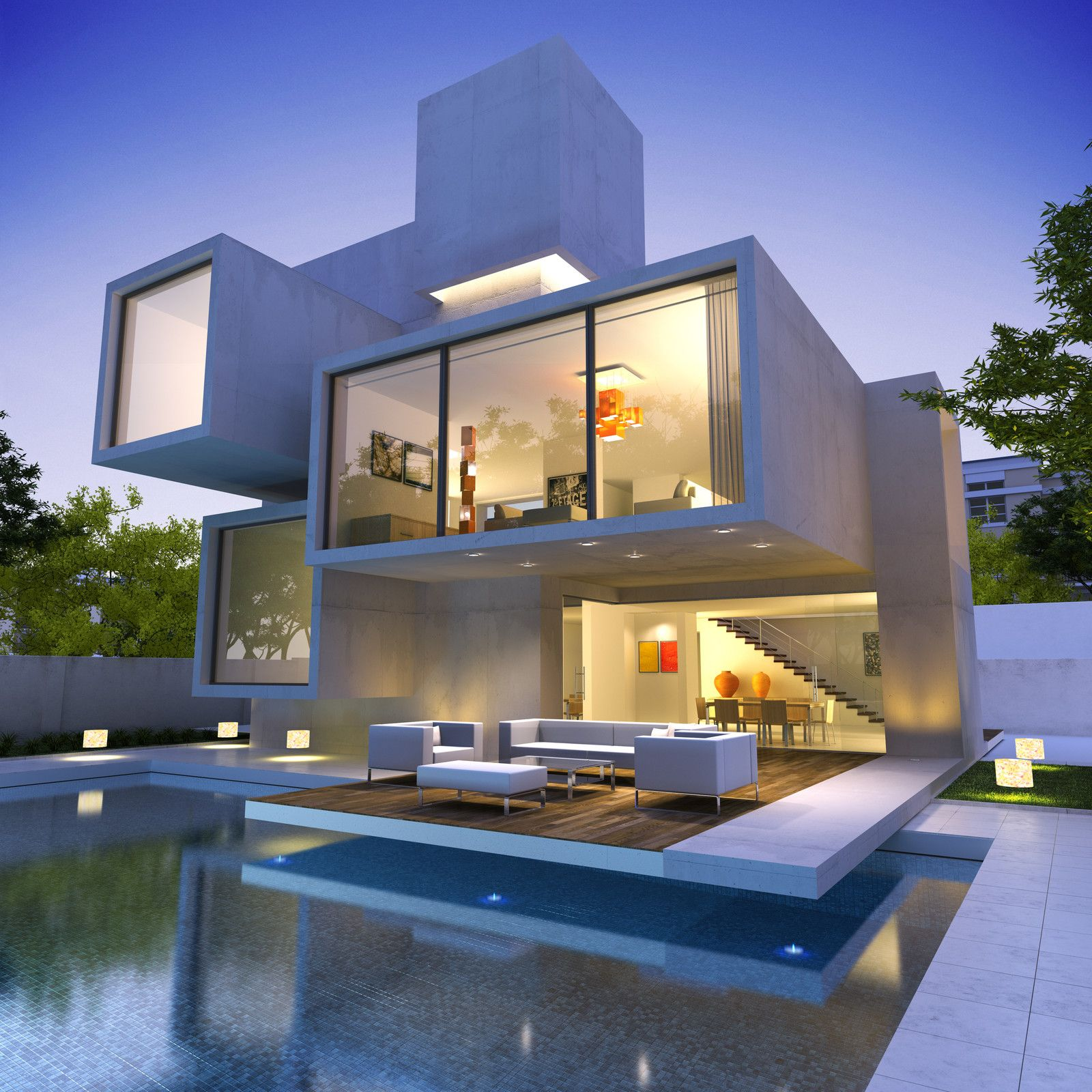 Really nice modern houses - Contemporary Modular Homes Like This Really Please The Eye Look At The Concrete Exterior And