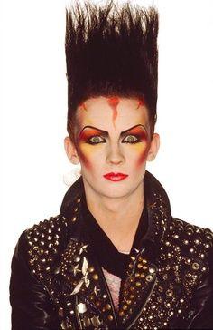Blitz Kids 1980s Makeup Punk Art 80s Goth