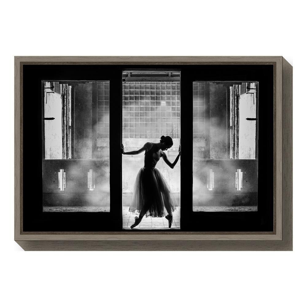 Amanti Art Are You Ready By Rullyanto Wibisono Framed Canvas Wall Art Greywash Framed Canvas Wall Art Canvas Frame Amanti Art