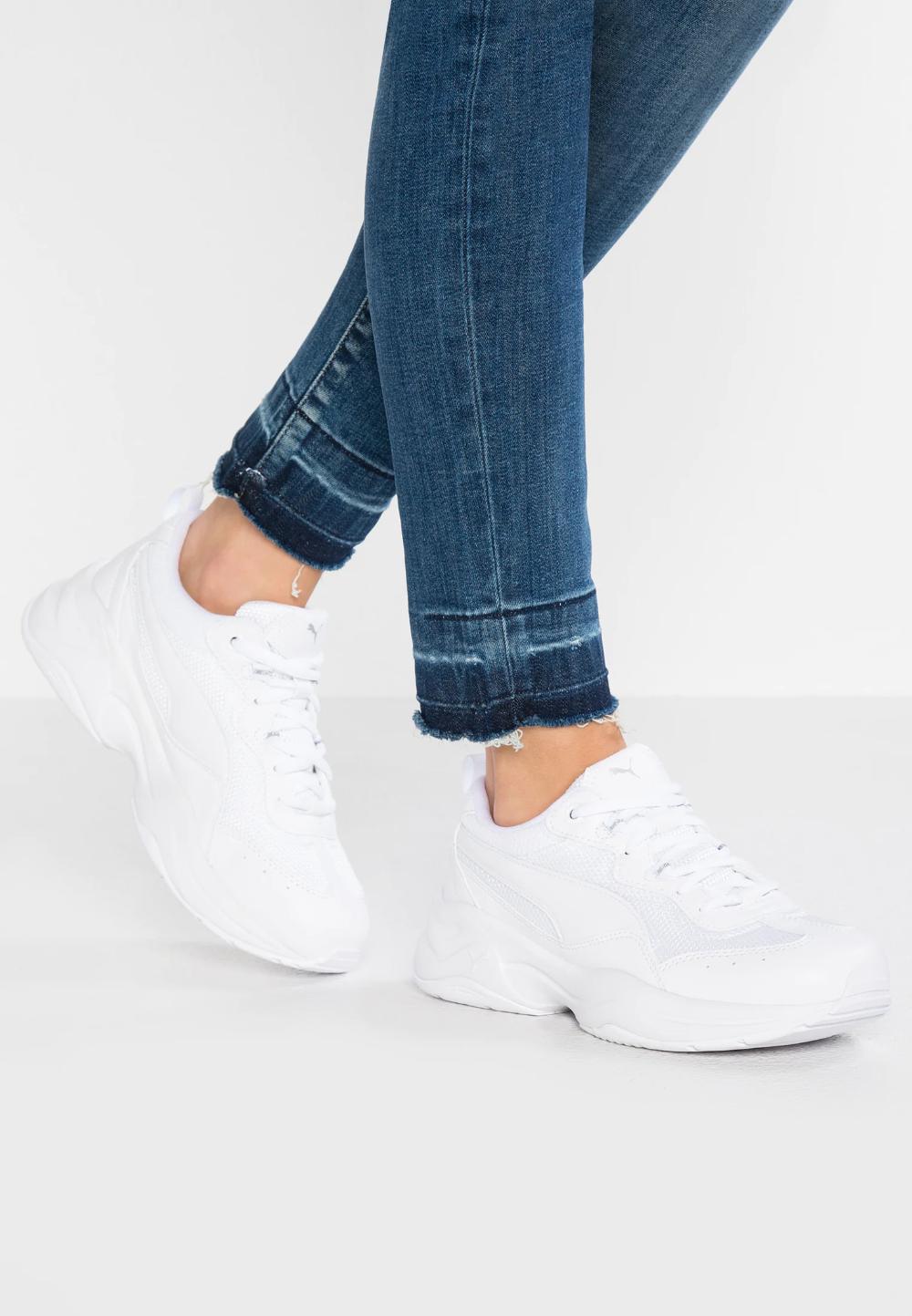 Puma CILIA - Sneaker low - white/weiß