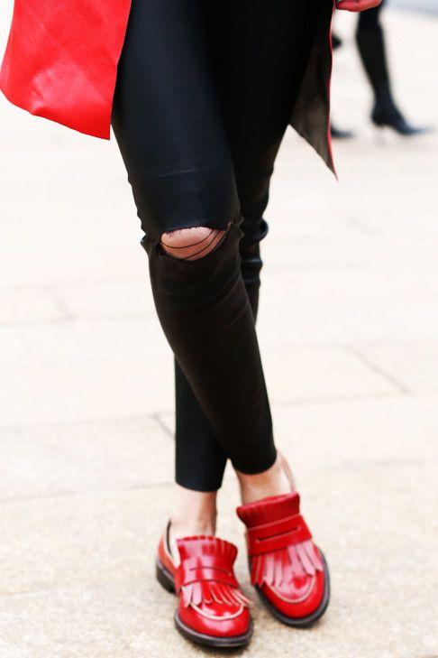 Streetstyle на Неделе моды в Нью-Йорке - VOGUE Blog - Блоги - Журнал VOGUE