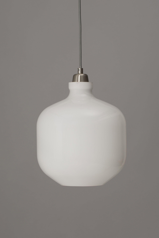 Adum Pendant Light, White - Bhs