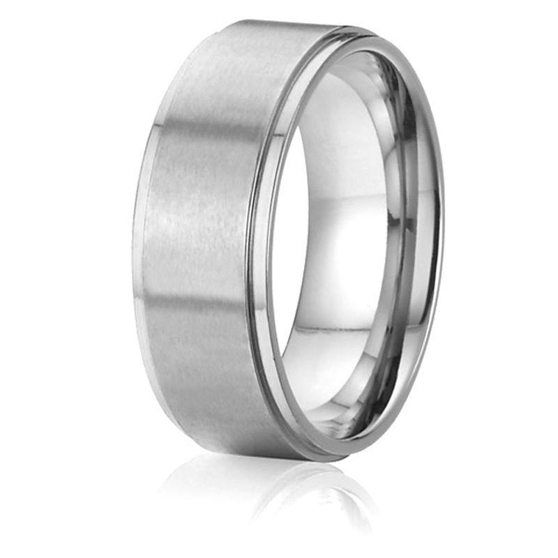 d10df374ab6 custom tailor handmade 8mm men ring titanium steel jewelry ...