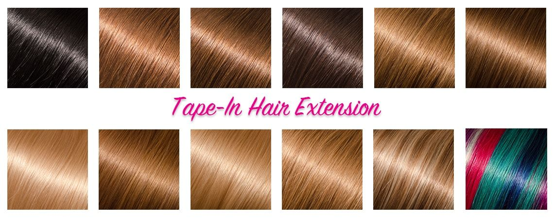 Tape In Hair Extension Basics Hair Extensions Dubai Uae Tapein