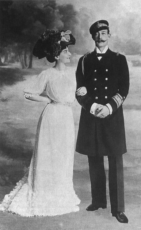 Prince and Princess George of Greece and Denmark.