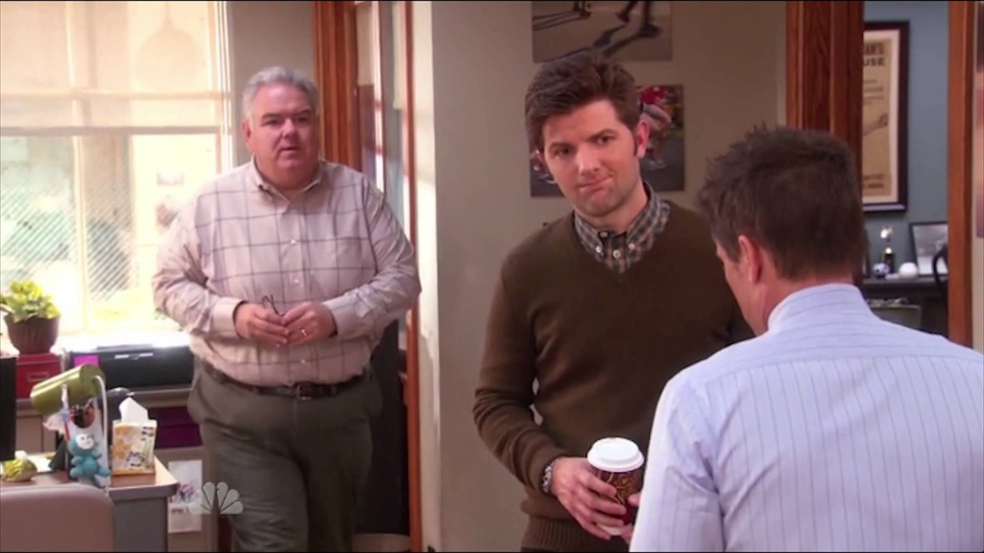 Best Jerry Gergich Moment Parks And Recreation In This Moment
