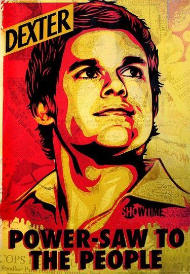 Dexter Power Saw To The People Plakat Dexter Poster Dexter Wallpaper Dexter Morgan