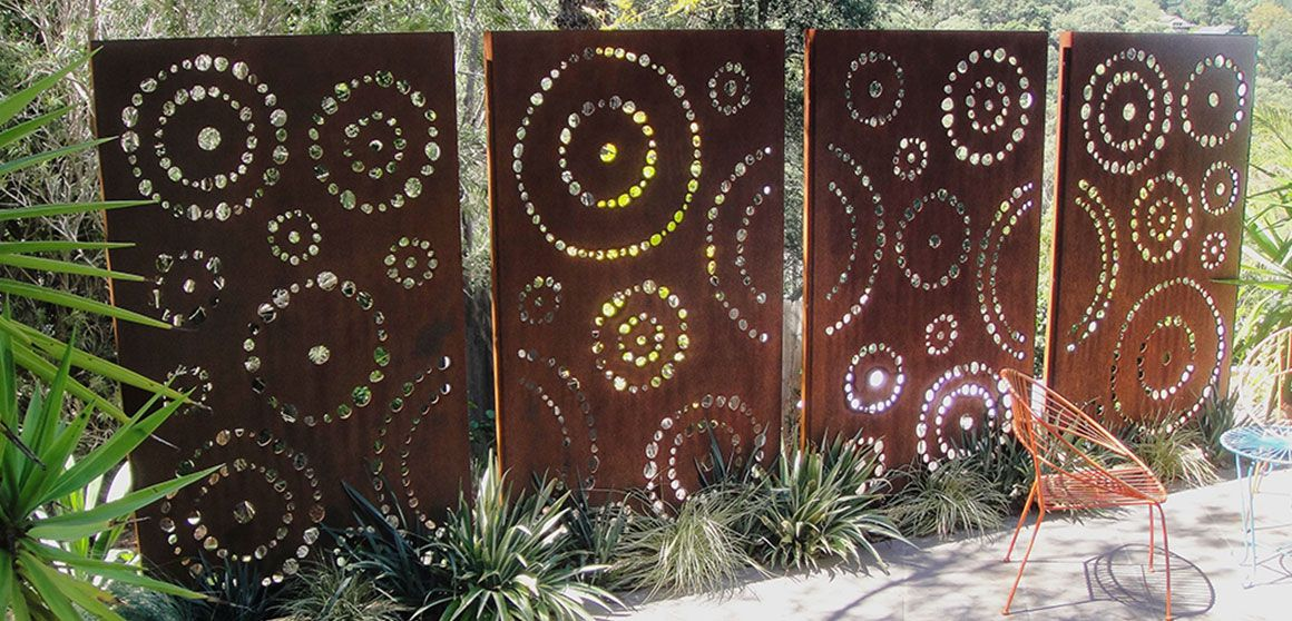Urban design systems laser cut landscape screening for Garden screen designs