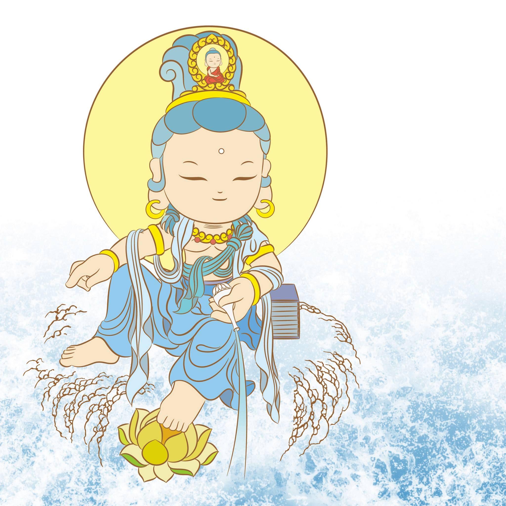 Открытка буддисту