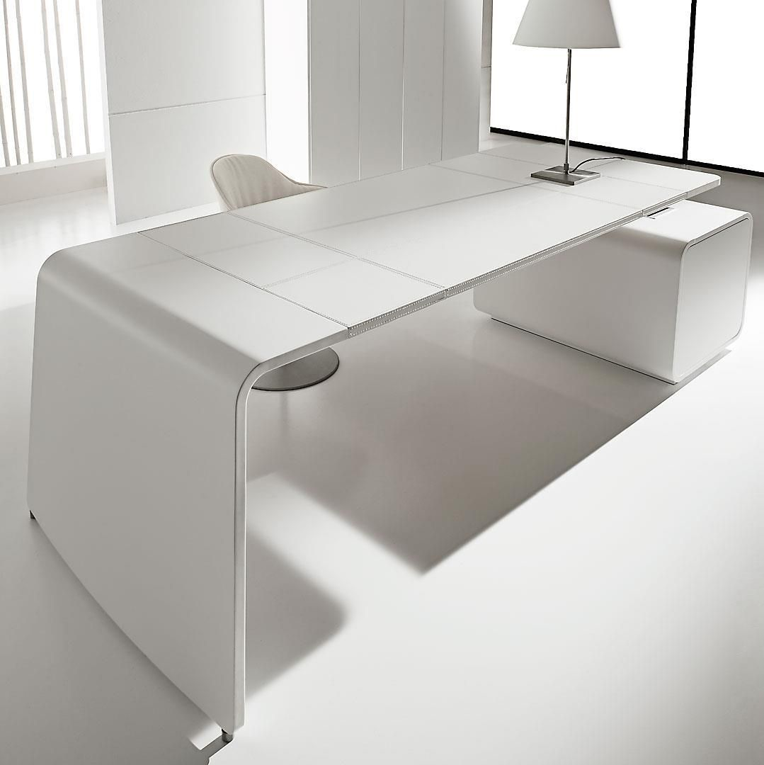 White Executive Desk With Drawers rectangular tanned leather executive desk with drawers sestante