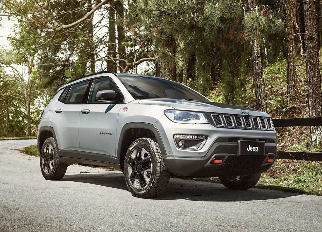 The new Jeep Compass 20182019 is the older brother of the