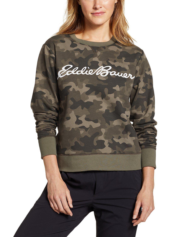 Photo of Women's Camp Fleece Logo Crewneck Sweatshirt – Easy