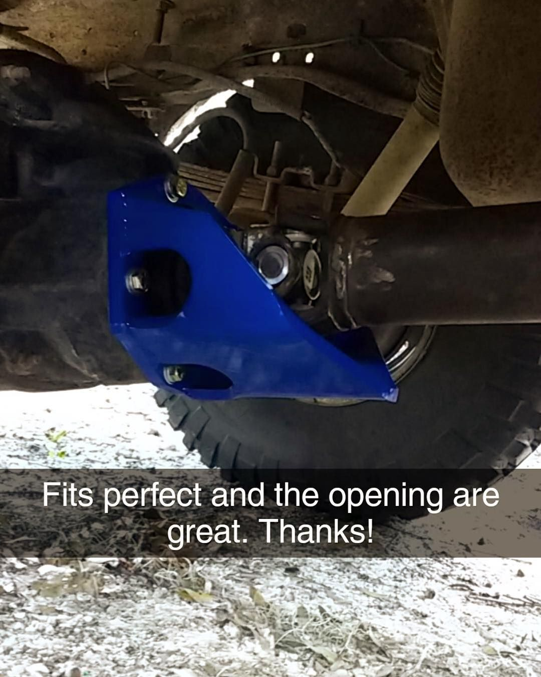 That blue RuffStuff Pinion Guard tho!!!! You can get this