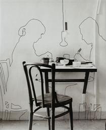 Sombras projetadas (com René Bertholo) - Lourdes Castro