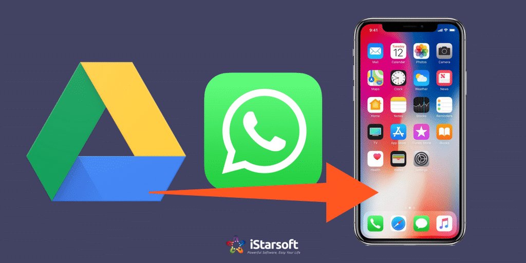 Restore Whatsapp From Google Drive To Iphone Alternative Tips Istartips Iphone Ios Operating System Google Drive