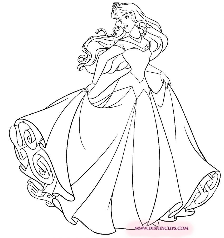 Disney Coloring Pages Aurora Online Disney Princess Coloring Pages Disney Princess Colors Sleeping Beauty Coloring Pages