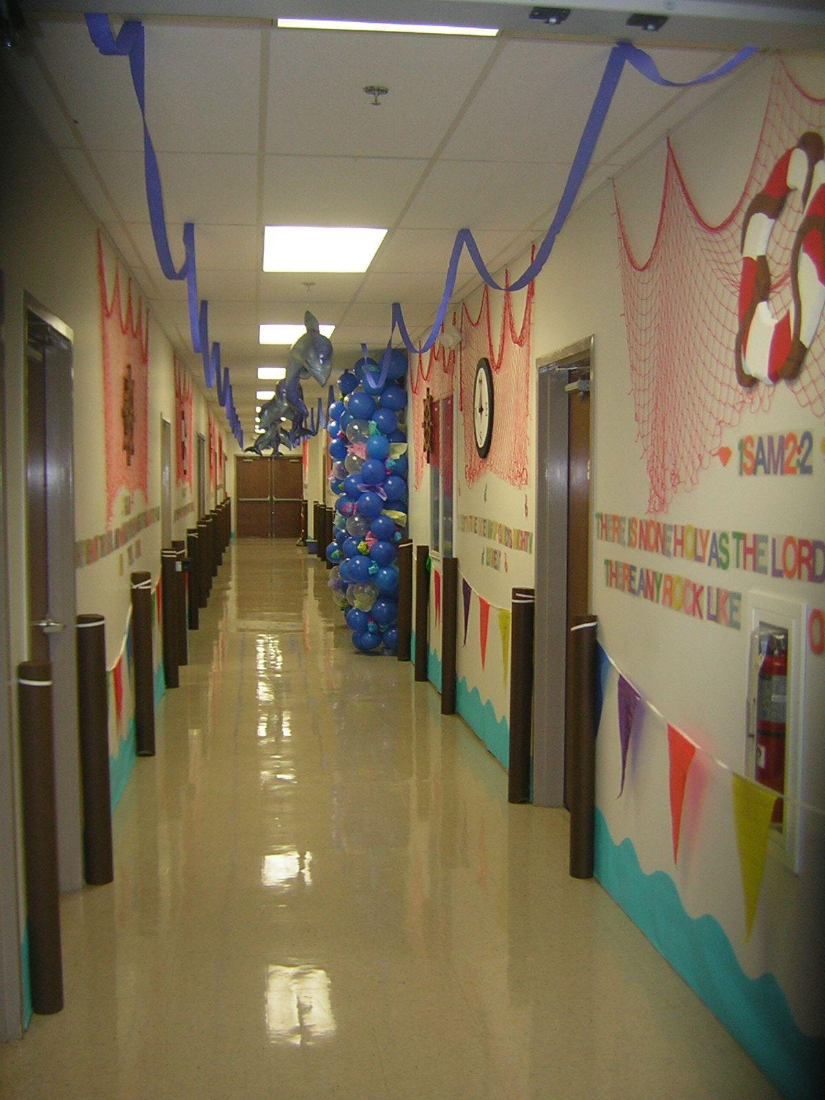 Nautical Hallway Emeventballoons