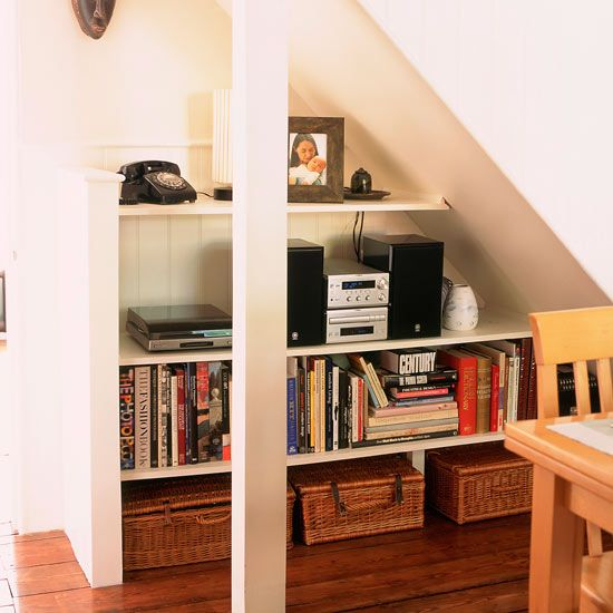 Shelving Ideas   Living With Books   Housetohome.co.uk Under Stair Storage