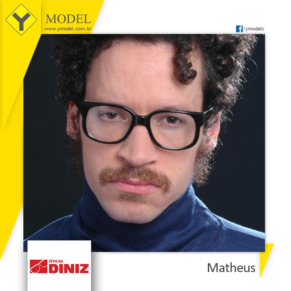 8955fe25c0627 Matheus - Óticas Diniz - Y Model