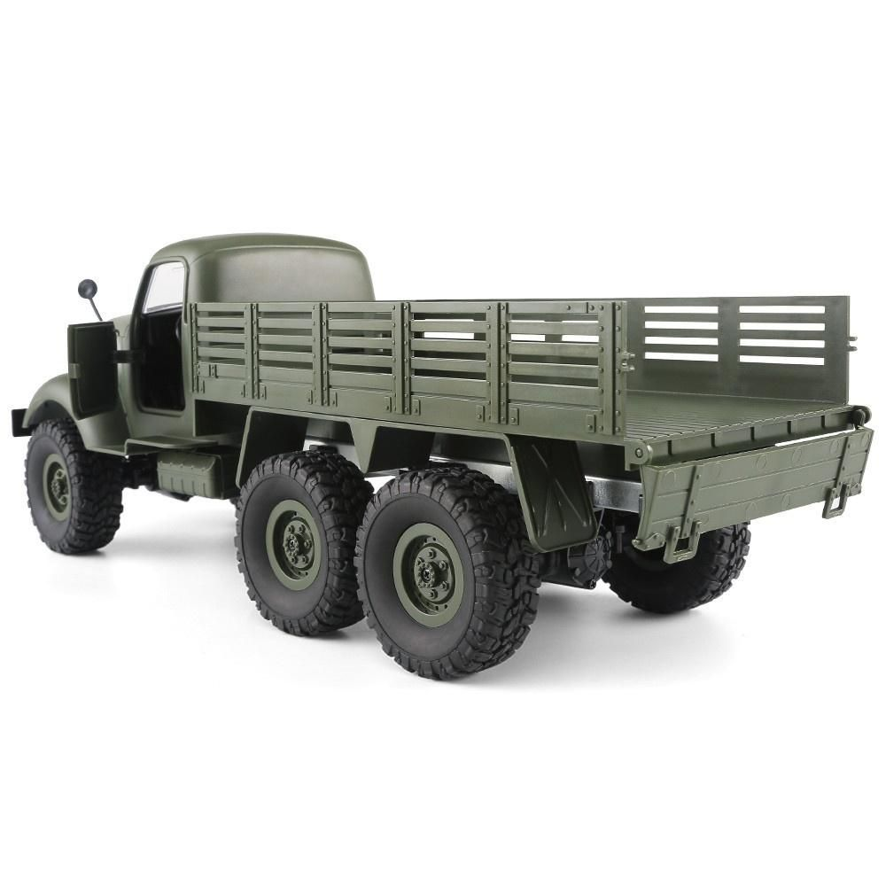 JJRC Q60 RC 1:16 2.4G Remote Control 6WD Tracked Off Road Military Truck Car RTR