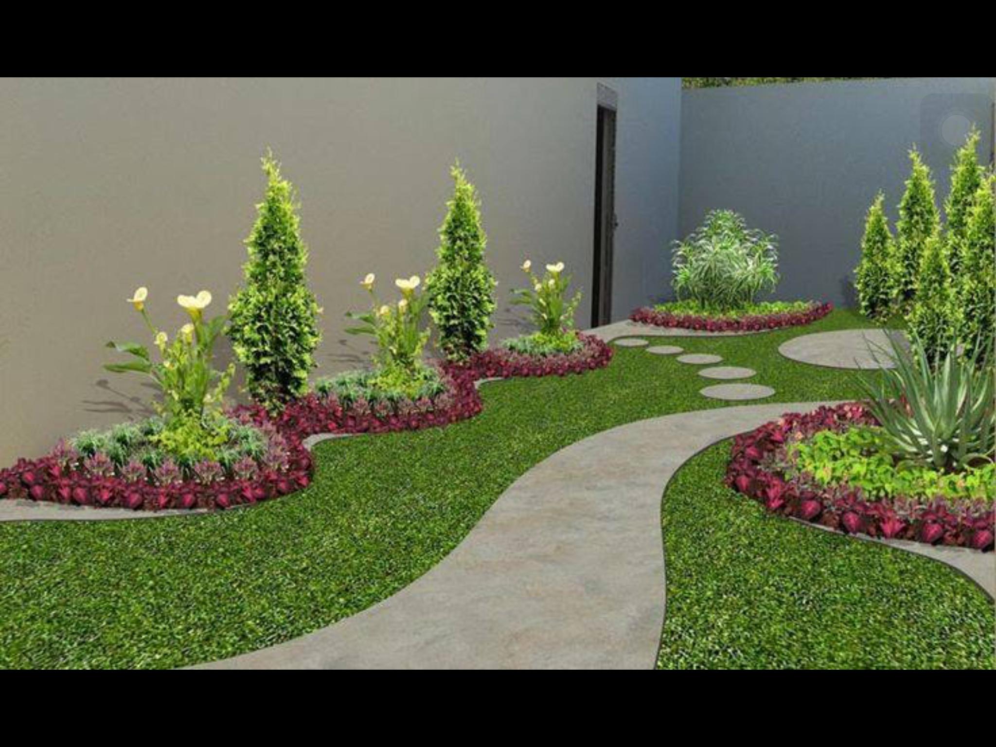 Pin de olga cerda en terrazas dise o de jardin jardiner a y decoraciones de jard n - Disenos de jardineria ...