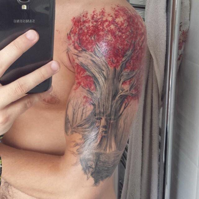 db24d1f5309b4 Weirwood Heart Tree Game Of Thrones Tree, Game Of Thrones Tattoo, Gaming  Tattoo,