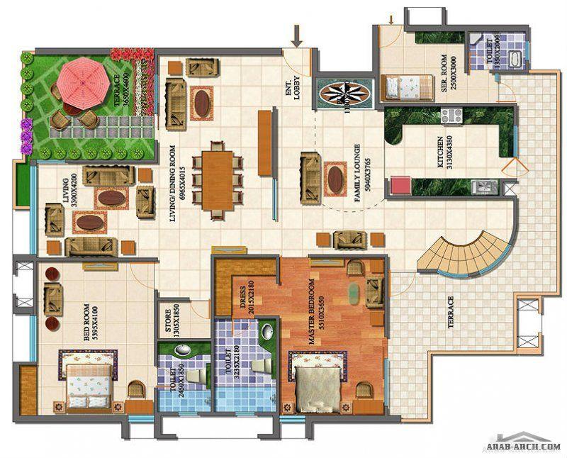 الفيلات صفحة 3 Holiday Decor Villa Floor Plans