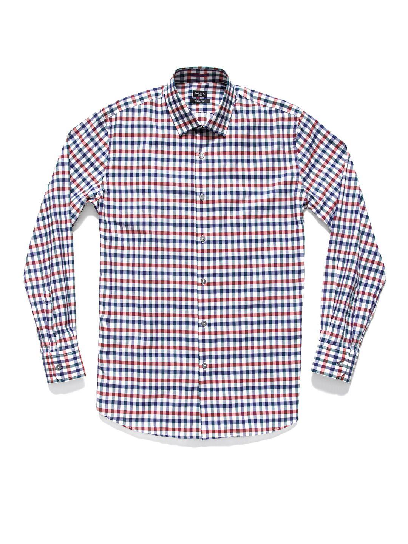 Paul Smith London - Contrast Cuff Gingham Shirt