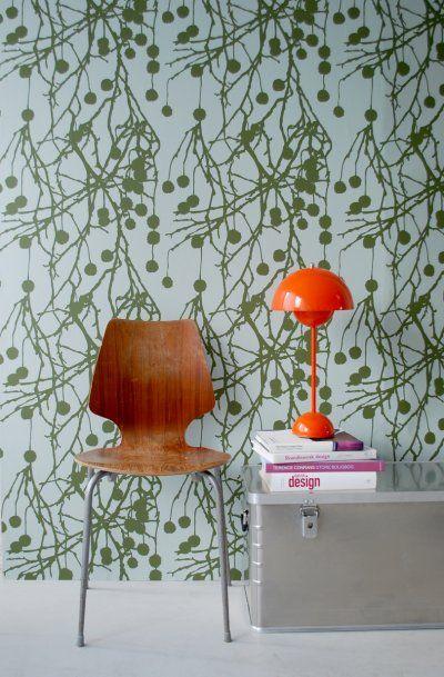 Ferm Living - Wallpaper Tree Bomb - FW138 - www.4-id-shop.co.uk