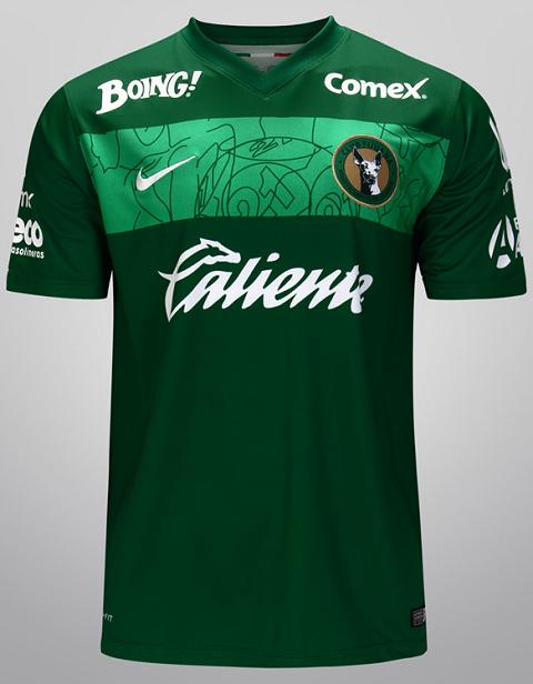 406324e4a5cc1 Nike homenageia o México em camisas de times - http   colecaodecamisas.com