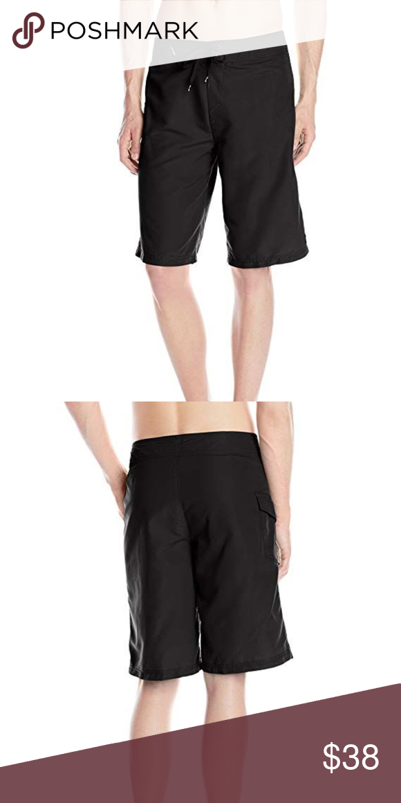 6c37a28209b0b Oakley Men's Classic Black Boardshorts 40 NWT Oakley Men's Classic Black  Boardshorts Brand New Size: 40 Color: Jet Black 100% Polyester Imported  Machine ...