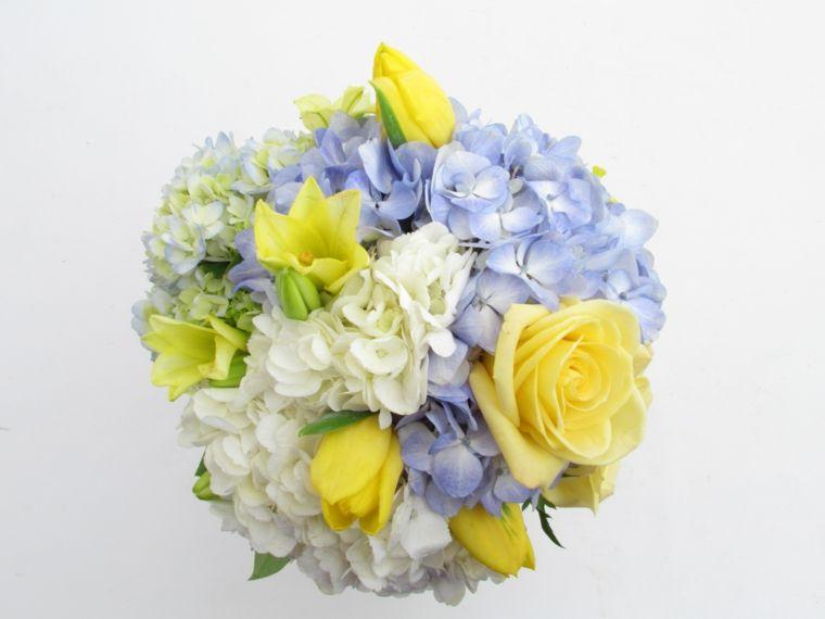 Mazzo Di Fiori Ortensie.1001 Idee Di Bouquet Sposa Per Scegliere Un Elemento