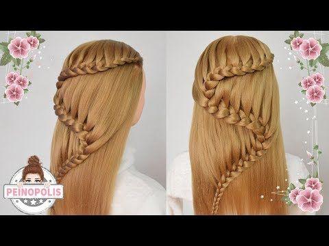 Trenza En Forma De S Peinados Faciles Rapidos Y Bonitos Para