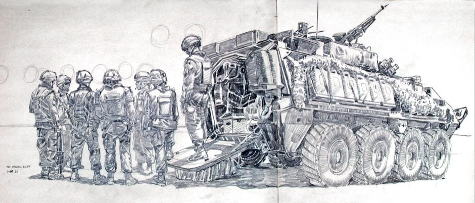 Richard Johnson: Sketches from our front lines