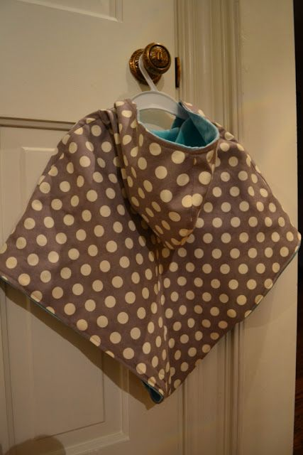 Free Sewing Tutorial - DIY Hooded Poncho Ok so here goes... my first ...