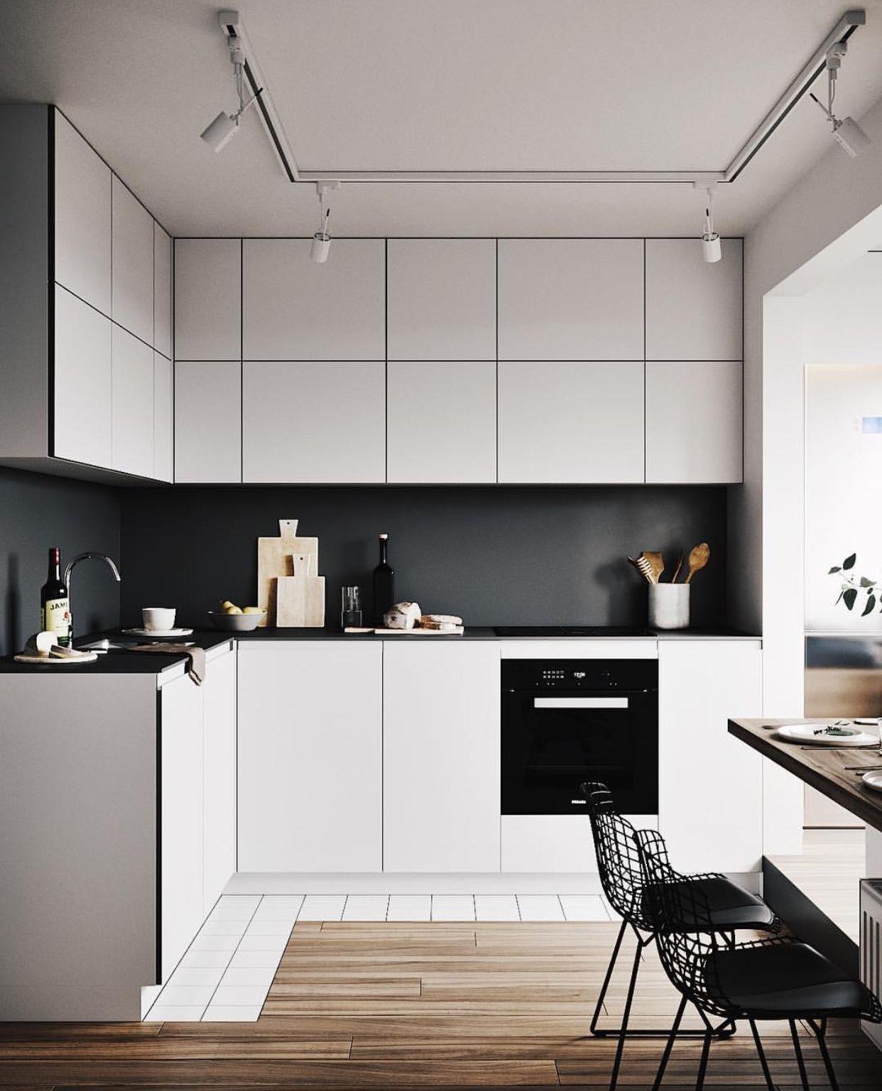 pin by ceola johnson on future home modern kitchen interiors minimalist small kitchens on kitchen ideas minimalist id=47399
