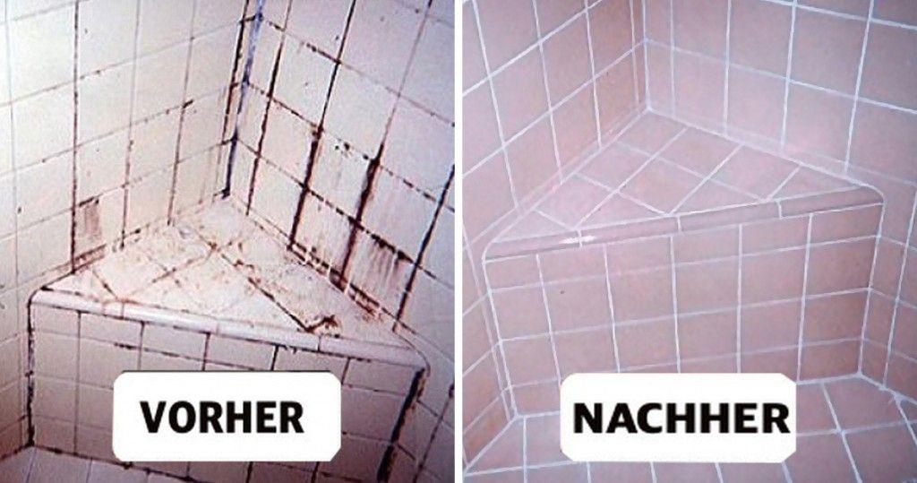 die besten 25 badezimmer reinigen ideen auf pinterest badezimmer putzen tipps backpulver. Black Bedroom Furniture Sets. Home Design Ideas