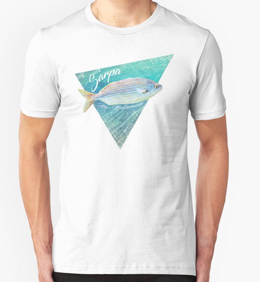 """Sarpa Fish"" T-Shirts & Hoodies by Lidra | Redbubble"