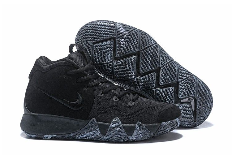 "purchase cheap 302f8 32607 2018 Nike Kyrie 4 ""Triple Black"" For Sale   Air Jordans 2018"