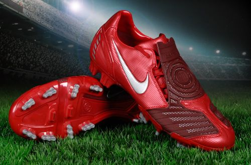 nike t90 laser II red - Google Search