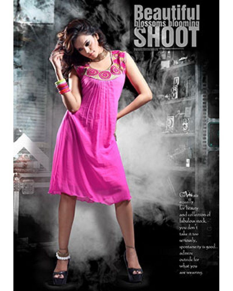 Stutti fashion exclusive pink color kurti at rs stutti fashion