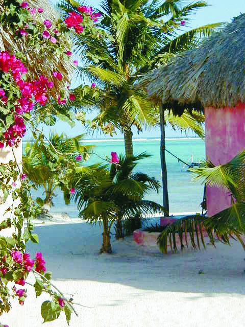 Honeymooning here! A beachfront casita at Matachica Resort in Belize.